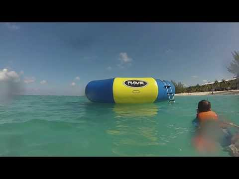 Some water fun - Cayman Islands 2014