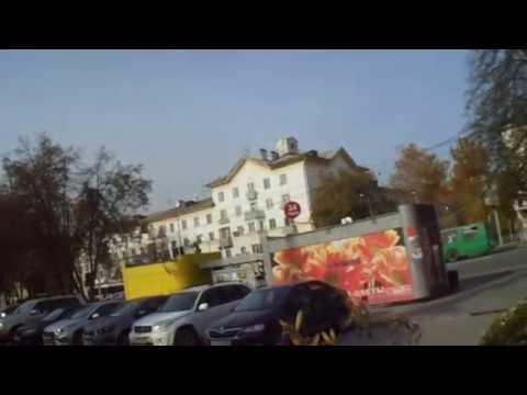 Мой родной город Новосибирск.Улица Богдана Хмельницкого.