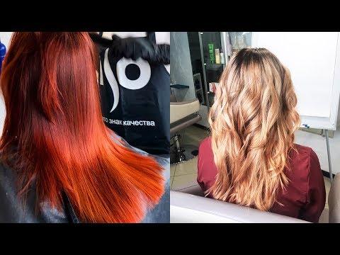 Как покрасить волосы после хны обычной краской