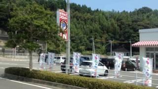 路線バス(天草) 車窓 本渡バスセンター→鬼池港/ 九州産交 本渡1235発
