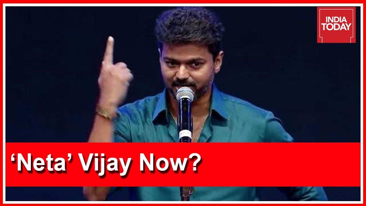 Actor Vijay To Be Latest Entrant In Tamil Nadu Politics