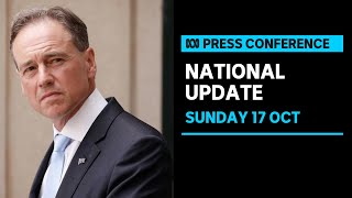 IN FULL: Federal Health Minister Greg Hunt announces purchase of COVID-19 antiviral drugs   ABC News