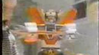 Вольтрон Іграшка Реклами 3 Моторизовані Гігантський Командир