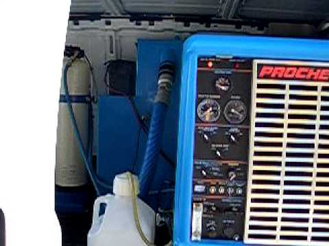 2009 Chevy Cargo Van W Everest Prochem Hp 650 Youtube
