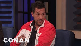 Adam Sandler's Heart Attack Scare - CONAN on TBS