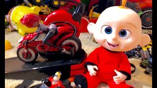 NEW Incredibles 2 Toys Haul - WHICH IS YOUR favorite Incredibles 2 Toy  ? We OPENED SO MANY TOYS