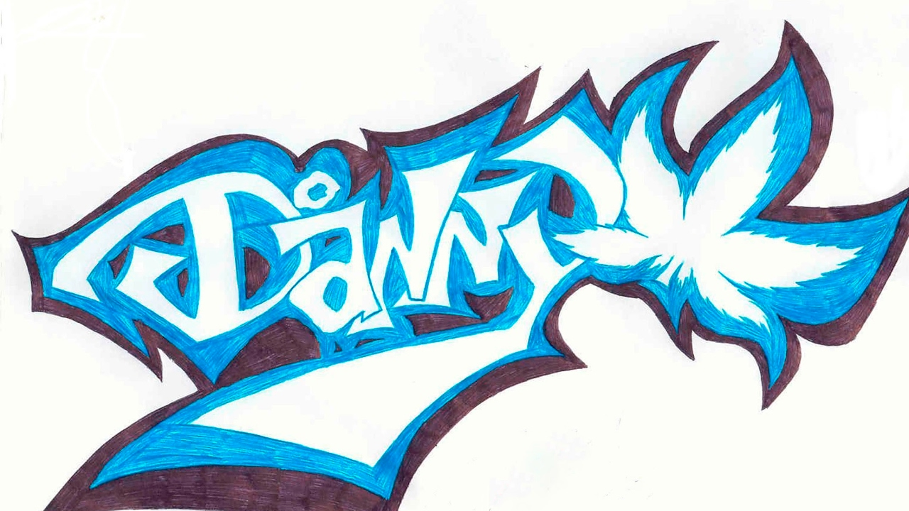 прахом легкие рисунки карандашом граффити имена можно использовать