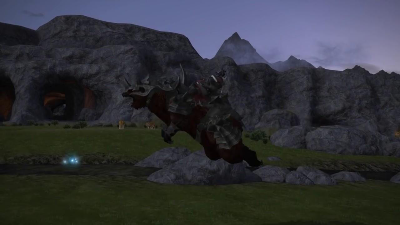 Final Fantasy 14 battle bear mount