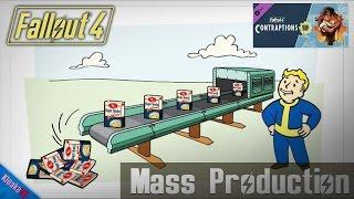 Fallout 4 - Mass Production Achievement - Contraptions Workshop DLC Walkthrough