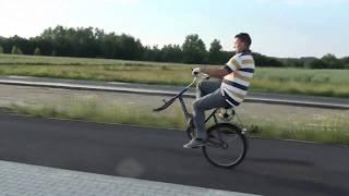 Kilometr na jedym kole bez koła
