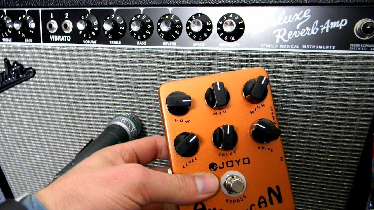 Fender Deluxe Reverb vs Joyo American Sound Amp Simulation Pedal Blind Test