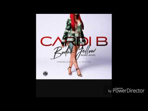 Cardi B-Bodak Yellow (money moves)lyrics