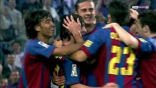 First ever barcelona goal ...