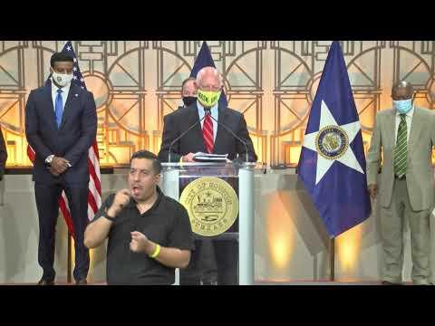 Mayor Turner announces results of antibody survey in Houston ...
