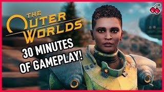 The First 30 Minutes of The Outer Worlds - Character Creation, Story and More!