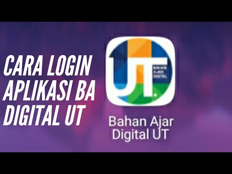 Cara Login Aplikasi BA Digital UT