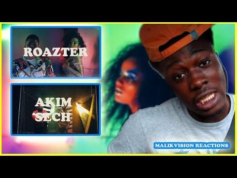 AMERICAN REACTS TO PANAMANIAN MUSIC! Roazter - Sintomas / Akim Feat. Sech - Como es | MALIKVISION