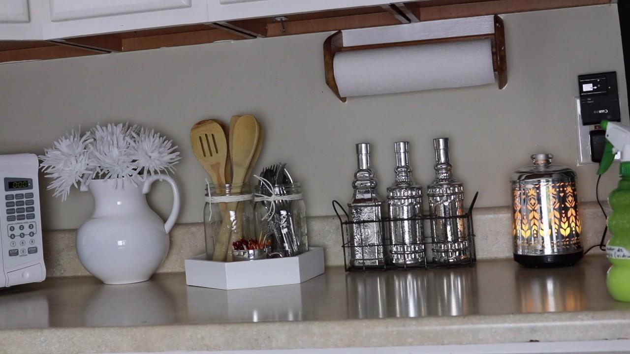 Decorando mis gabinetes en la cocina la parte de el for Decoracion de gabinetes de cocina