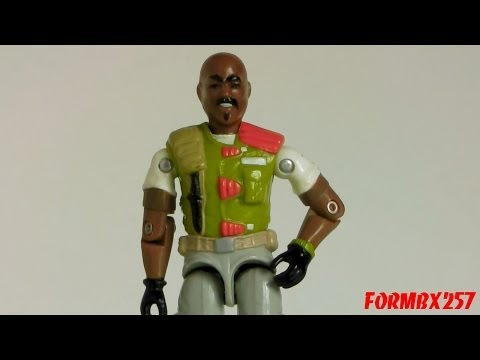 1986 Roadblock (Heavy Machine Gunner) G.I. Joe review