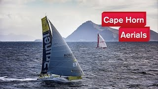 Cape Horn from the sky | Volvo Ocean Race 2014-15