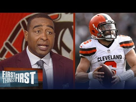 Cris and Nick react to Baker Mayfield's 1st career start | NFL | FIRST THINGS FIRST