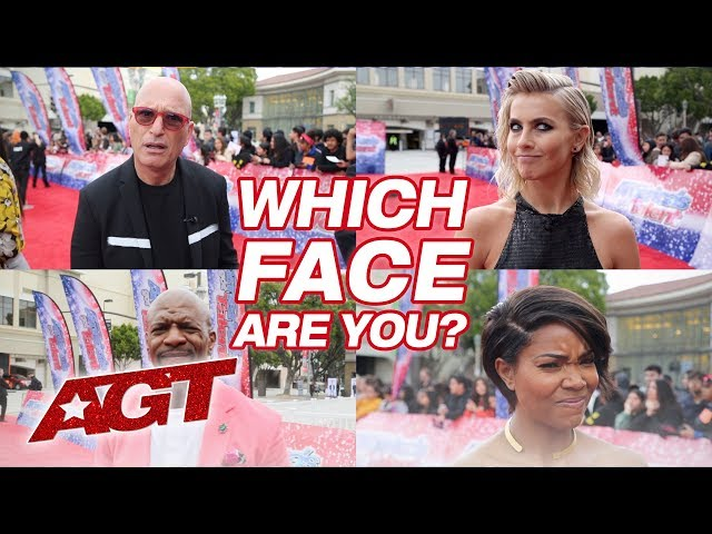 AGT Shows YOU The Faces Of Judgment - America's Got Talent 2019