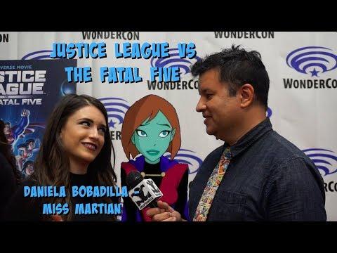 Justice League Vs The Fatal Five Daniela Bobadilla Voices Miss Martian Youtube