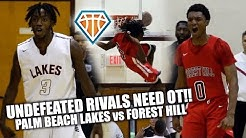 UNDEFEATED RIVALS GO TO WAR IN OVERTIME SHOWDOWN!!   Forest Hill vs Palm Beach Lakes