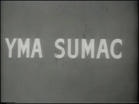Yma Sumac - Chuncho - Propaganda televisiva para a March of Dimes - 1954