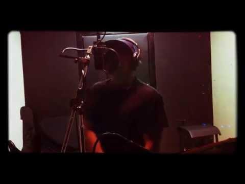 Bullet Mane from UM @ GT estudios overdubbing Vocals Video Session