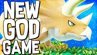 NEW GOD GAME WITH DINOSAURS | Birthdays: The Beginning (Let