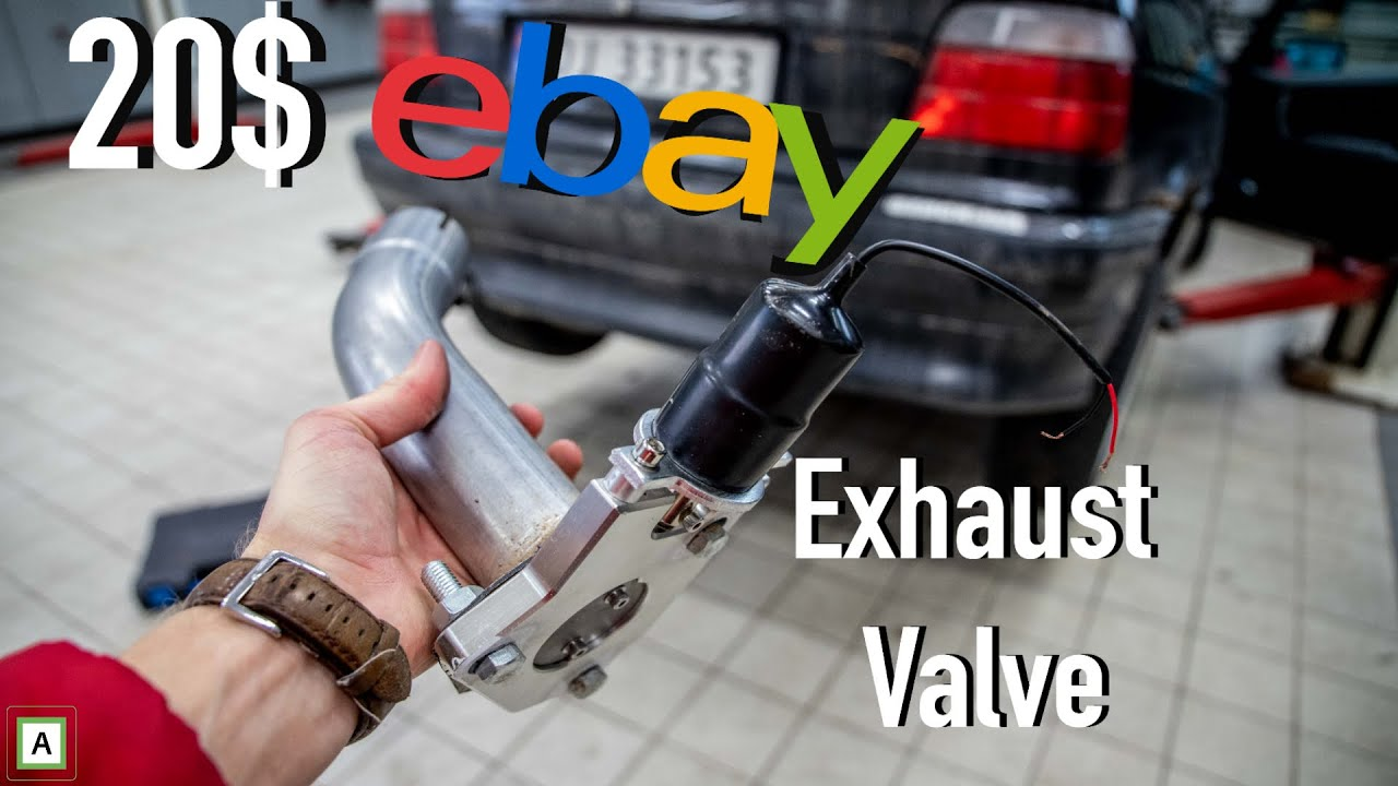 installing the cheapest ebay exhaust cut out valve sound test
