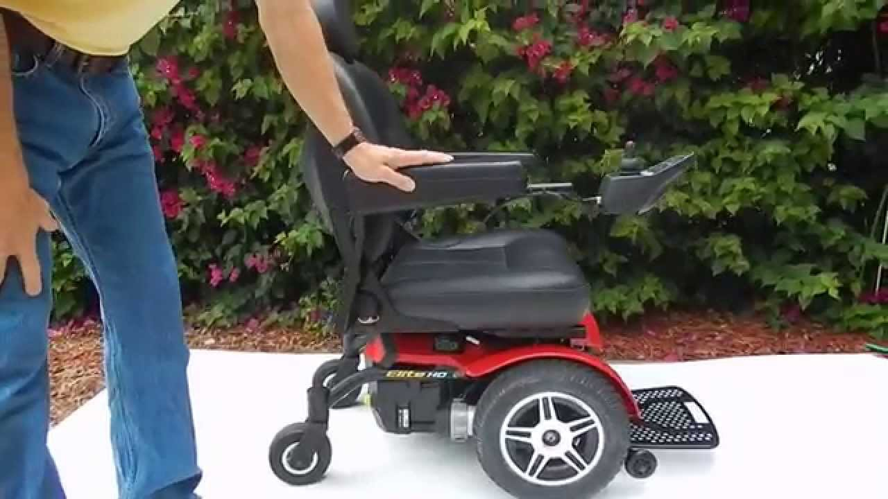 jazzy power chairs used table and pride mobility elite hd chair youtube