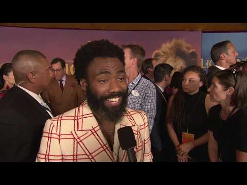 """LION KING With DONALD GLOVER Who Plays  """"Simba"""""""