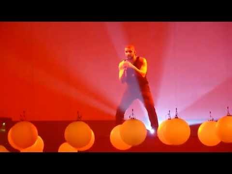 Drake -  Controlla / One Dance live @ Summer Sixteen Tour, SAP Center, San Jose, CA