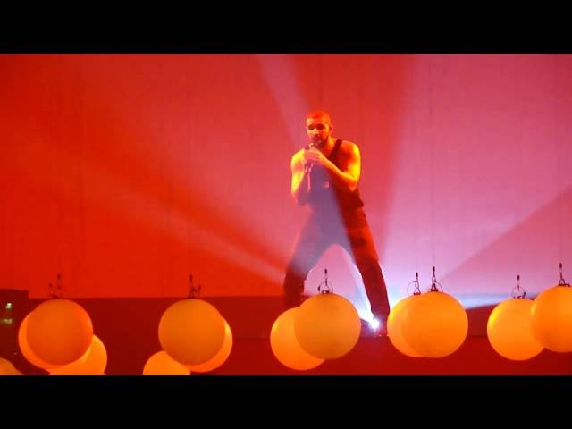 Drake -  Controlla / One Dance live @ Summer Sixteen Tour, SAP Center, San Jose, CA