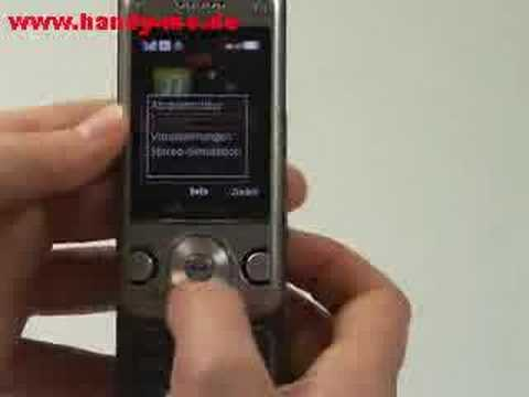Sony-Ericsson W760i Musikplayer