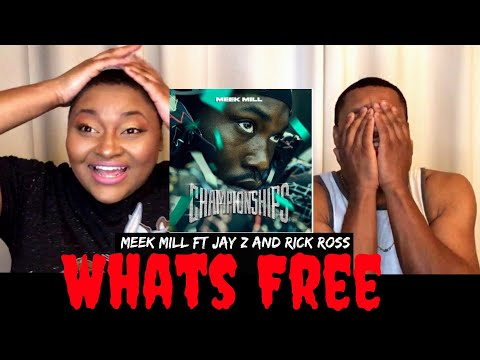 """Meek Mill """"What's Free"""" ft Rick Ross & Jay Z Reaction  