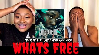 "Meek Mill ""What's Free"" ft Rick Ross & Jay Z Reaction  