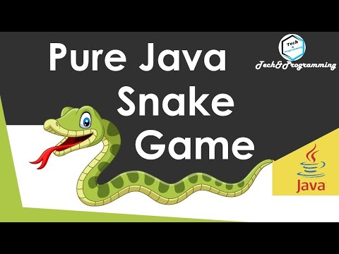 How To Develop Snake Game In Core Java Using NetBeans full Source Code In One Video Tech&Programming