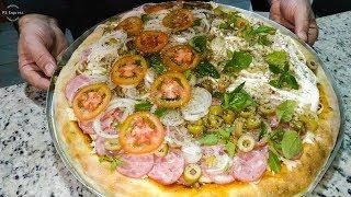 Pizza Três Sabores Profissional, Aprenda a Fazer e Ganhe Dinheiro!