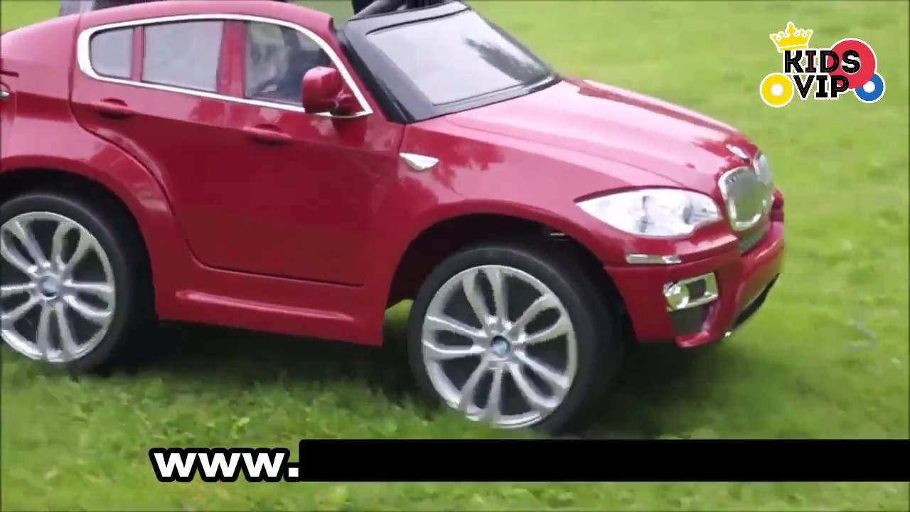 Bmw X6 Electric Car For Kids Licensed With Rc