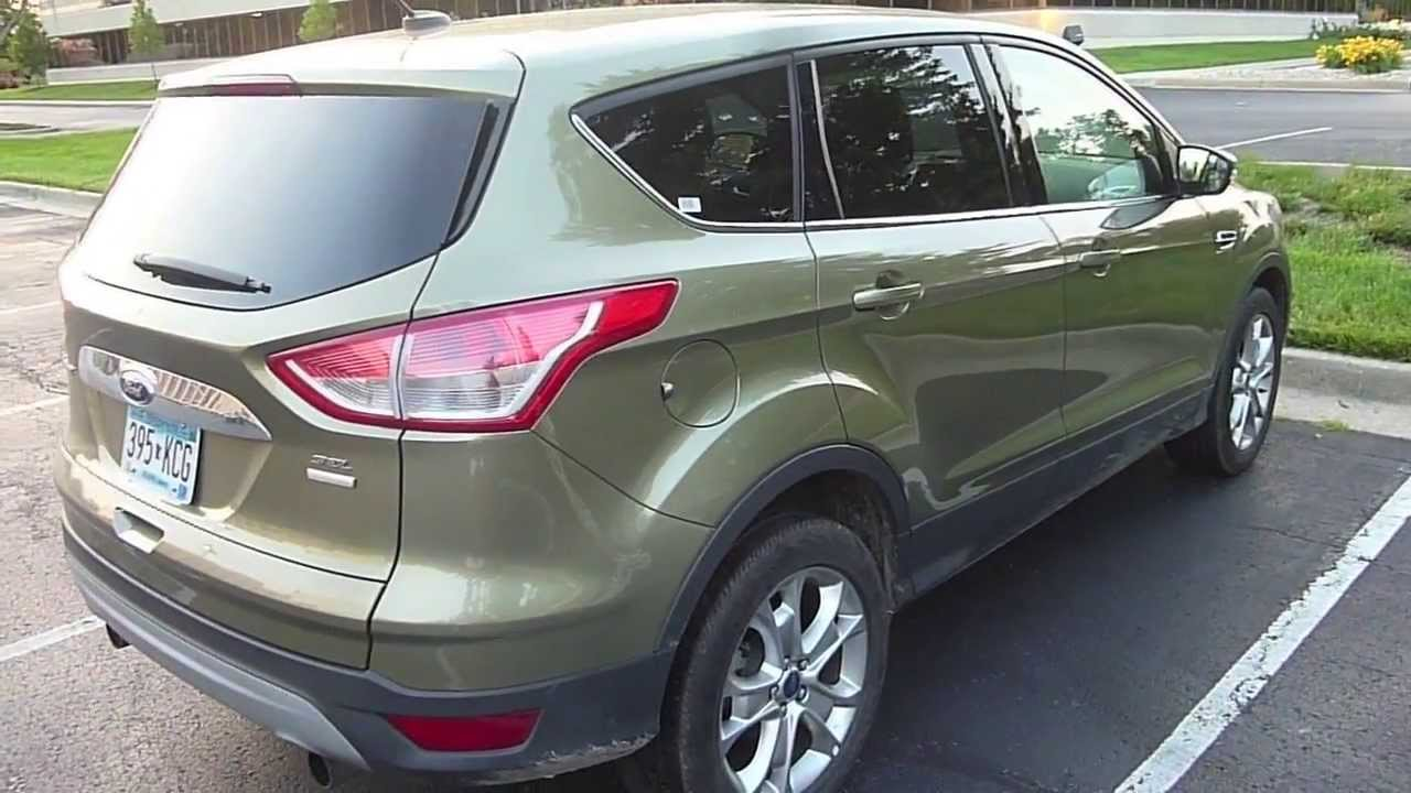 2013 Ford Escape In-Depth Interior and Exterior Tour and ...