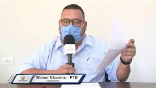 15ª Sessão Ordinária - Walmir Chaveiro