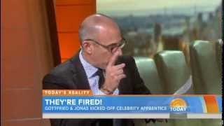Kevin Jonas & Gilbert Gottfried talk 'Apprentice' firings