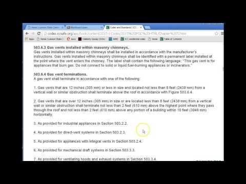 ACR135 class ICC Fuel Gas code part 2