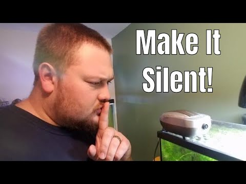 Make An Air Pump Quieter - How To Do It!