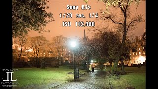 HIGH ISO, Low Light Challenge- Sony A7s vs. A7r vs A7ii at Greyfriars Kirk Scotland by Jason Lanier