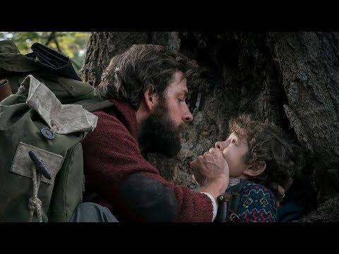A QUIET PLACE Trailers - Emily Blunt & John Krasinski 2018 Horror Movie