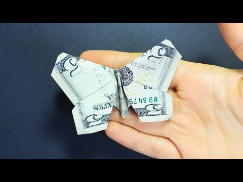 How To Make A Money Origami Butterfly